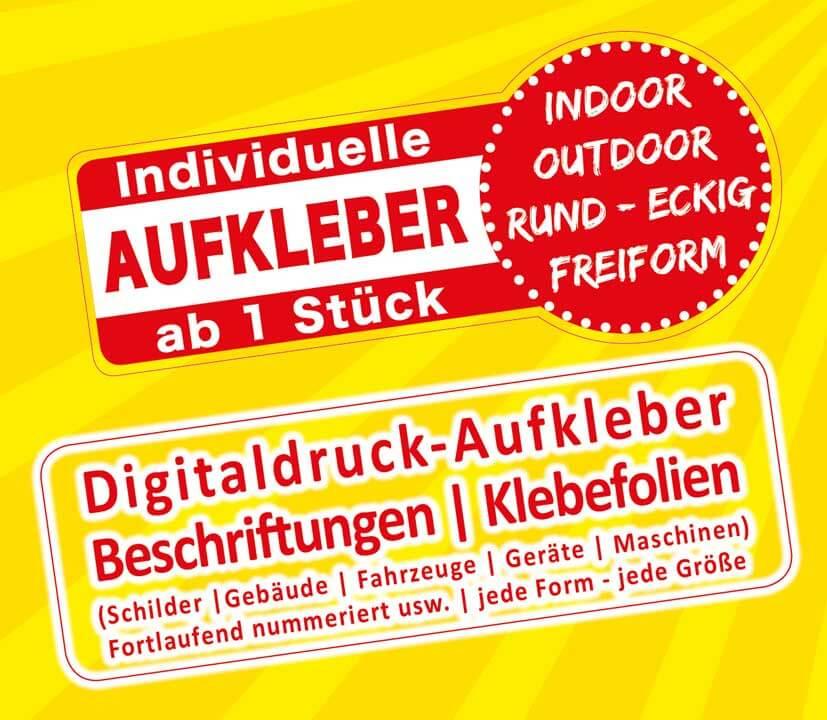 Aufkleber Sticker Etiketten Klebefolien Ab 1 Stück